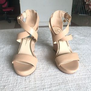 Jinxxi wedge sandal